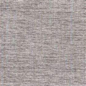 Saskia - Canvas - Semi-plain light cloud grey coloured polyester, acrylic and viscose blend fabric