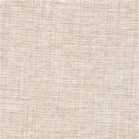 Saskia - Putty - Polyester, acrylic and viscose blend fabric woven using white and very pale grey-beige coloured threads