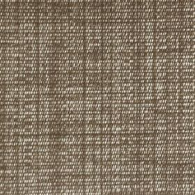 Saskia - Café - Woven polyester, acrylic and viscose blend fabric made in white and deep chocolate brown