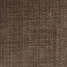 Saskia - Walnut - Mostly chocolate brown coloured polyester, acrylic and viscose blend fabric, woven using a few subtle light grey threads