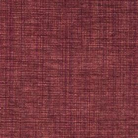 Saskia - Spice - Fabric made from a blend of polyester, acrylic and viscose in a deep plum colour