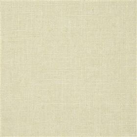 Highland Linen - Crema - Pale cloud grey coloured fabric made from linen and viscose