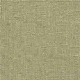 Highland Linen - Sage - Cement grey coloured fabric containing a mixed linen and viscose content