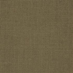 Highland Linen - Café - Plain linen and viscose blend fabric made in battleship grey