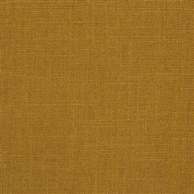 Highland Linen - Madras - Warm cookie coloured linen and viscose blend fabric