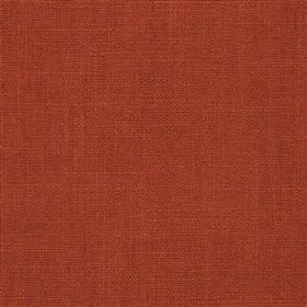 Highland Linen - Spice - Fabric made from a dark claret coloured blend of linen and viscose