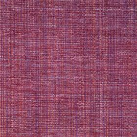 Saskia - Lovat - Polyester, acrylic and viscose blend fabric woven using threads in raspberry and bright purple shades