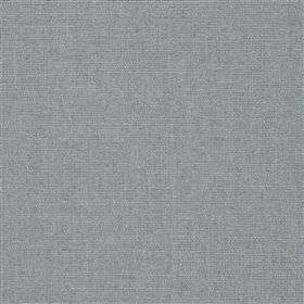 Highland Linen - Cloud - Light blue coloured linen and viscose blend fabric, finished with a light grey tinge