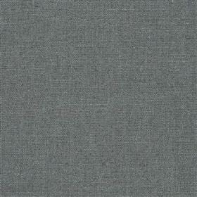 Highland Linen - Steel - Fabric made from a mixture of linen and viscose in a dusky blue-grey colour