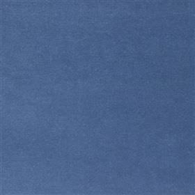 Yvette - Denim - Bright cobalt blue coloured cotton, modal and polyester blend fabric