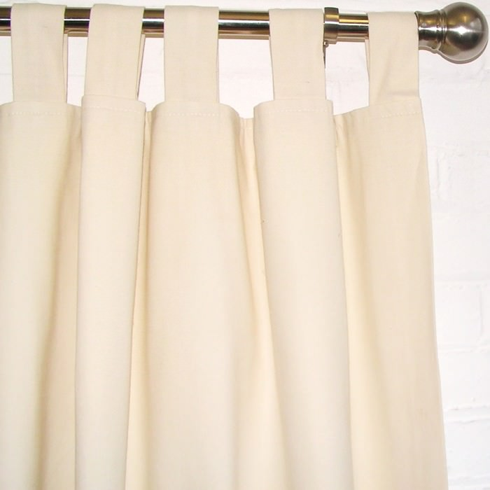 curtains ian mankin avon check cream pencil pleat