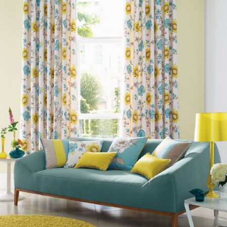 Eden Fabric Collection Ashley Wilde Curtains Roman Blinds