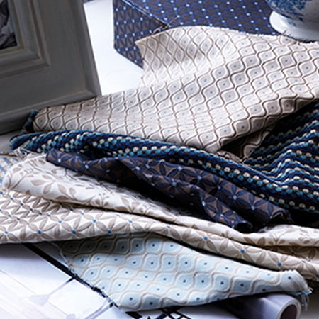 Bellevue Weaves Fabric Collection Blendworth Curtains