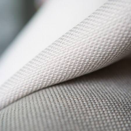 Clarke and Clarke -  Cadiz Fabric Collection - Grey textured cotton material