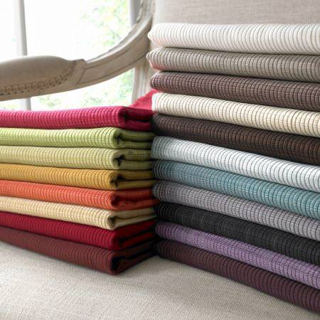 Clarke and Clarke -  Fenton Fabric Collection - Coloured textured fabrics from the Fenton fabric collection