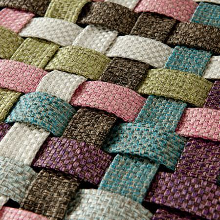 Clarke and Clarke -  Maximus Fabric Collection - Multicolour woven fabric close-up