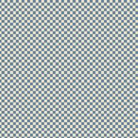 Elanbach -  Spring Fabric Collection - Grey and white tiny checkerboard fabric