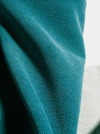 Fibre Naturelle -  Heritage Fabric Collection - Turquoise and white fabric