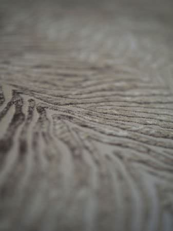 Fibre Naturelle -  Milano Fabric Collection - Grey fabric featuring flock animal stripes