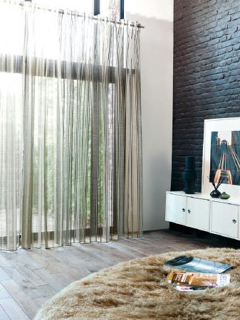 See Through Curtains tranquility fabric collection | fibre naturelle | curtains & roman