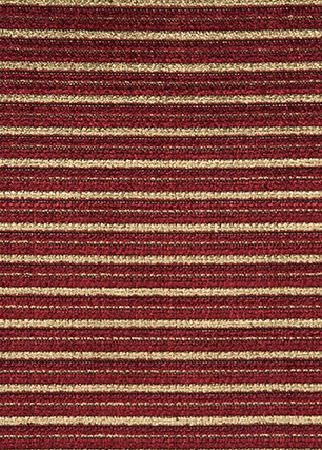 GP and J Baker -  Marwood Velvet Fabric Collection - Threaded velvet fabric in colours gold and red belonging to the Marwood Velvet fabric collection