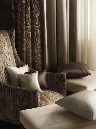 Curtains Ideas beige and brown curtains : Mata Hari Fabric Collection | Lizzo | Curtains & Roman Blinds