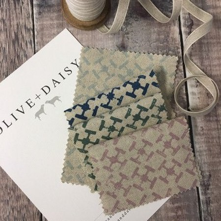 Olive and Daisy -  Olive and Daisy Fabric Collection -