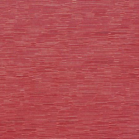 Prestigious Textiles -  Bamboo Fabric Collection - Irregularly striped red and salmon pink fabric