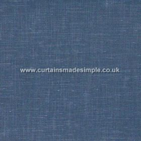 Prestigious Textiles -  Glaze Fabric Collection - Blue fabric sample from the Graze Fabric Collection
