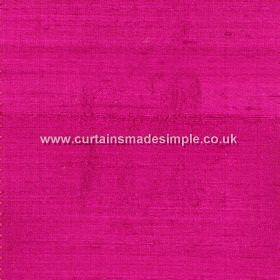 Prestigious Textiles -  Jaipur Fabric Collection - Plain reflective magenta fabric from the Jaipur fabric collection