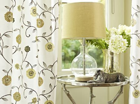 Green Curtains cream green curtains : Lago Fabric Collection | Prestigious Textiles | Curtains & Roman ...
