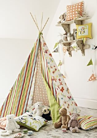 Prestigious Textiles -  Playtime Fabric Collection - Scatter cushions and a children