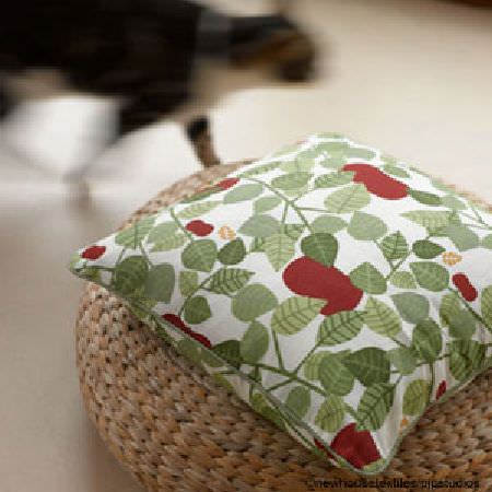 Almedahls Swedish fabric cushion