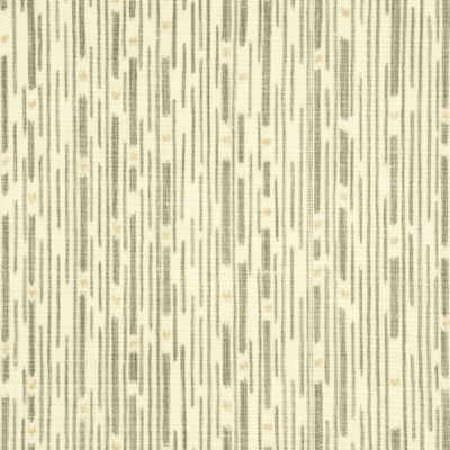 Threads -  Nirvana Fabric Collection - Fabric dyed in light shade of beige decorated with an interesting pattern of different lines in colour grey
