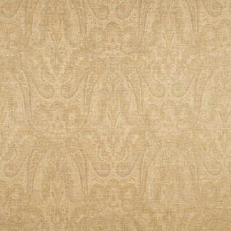 Threads -  Serenity Fabric Collection - Light beige fabric decorated with a subtle and elegant design in a darker shade of colour beige