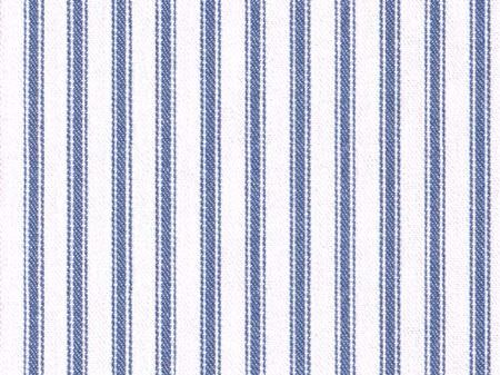 Titley and Marr -  Small Weaves Fabric Collection - Vertically striped fabric made with a simple design in cobalt blue and bright white