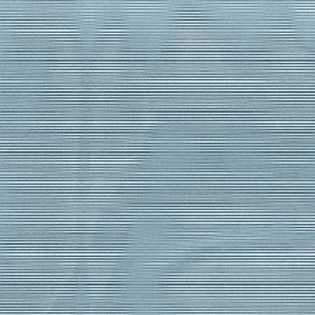 Wemyss -  Astra Fabric Collection - Blurred wavy lines printed on top of fabric featuring a very narrow horizontal marine blue and white striped design