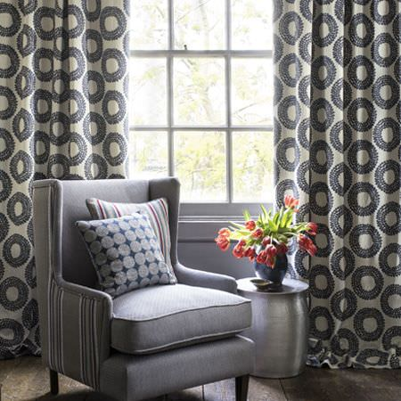 Amara Fabric Collection Clarke And Clarke Curtains