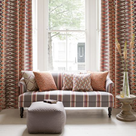 Nomad Fabric Collection Clarke And Clarke Curtains