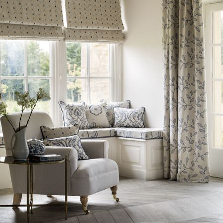 Richmond Fabric Collection Clarke And Clarke Curtains