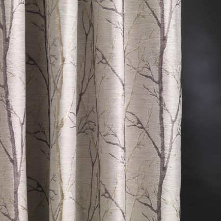 Burley Fabric Collection Fibre Naturelle Curtains