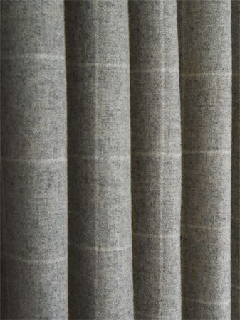 Jura Wool Fabric Collection Fibre Naturelle Curtains