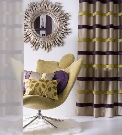 Prestigious Textiles   Artistic Impressions Fabric Collection   A Modern  Living Room Chair With Green Upholstery